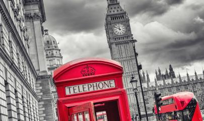 London symbols with big ben, double decker bus and red phone booth : Stock Photo or Stock Video Download rcfotostock photos, images and assets rcfotostock | RC-Photo-Stock.: