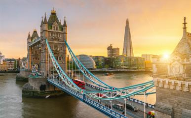London Tower Bridge, the UK. Sunset with beautiful clouds- Stock Photo or Stock Video of rcfotostock | RC-Photo-Stock