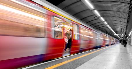 London Underground, Tube Station, train closed the door motion blur : Stock Photo or Stock Video Download rcfotostock photos, images and assets rcfotostock | RC-Photo-Stock.: