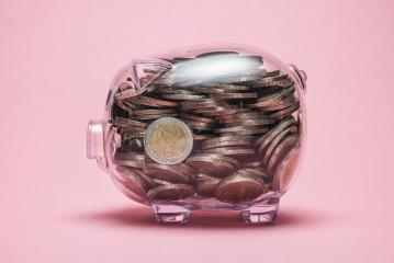 look inside a piggy bank with money coins - Stock Photo or Stock Video of rcfotostock | RC-Photo-Stock