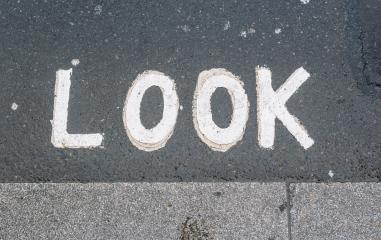 Look sign in a London street- Stock Photo or Stock Video of rcfotostock | RC-Photo-Stock