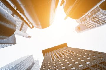 Looking up at some impressive skyscrapers- Stock Photo or Stock Video of rcfotostock | RC-Photo-Stock