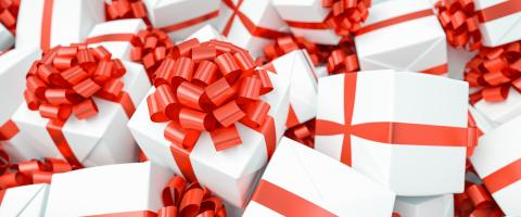 Lots of different gifts for Christmas in one big pile : Stock Photo or Stock Video Download rcfotostock photos, images and assets rcfotostock | RC-Photo-Stock.: