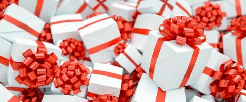 Lots of presents for Christmas as a Christmas present in a big pile : Stock Photo or Stock Video Download rcfotostock photos, images and assets rcfotostock | RC-Photo-Stock.: