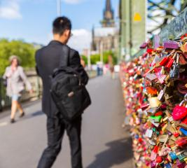 Love Locks at cologne - Stock Photo or Stock Video of rcfotostock | RC-Photo-Stock