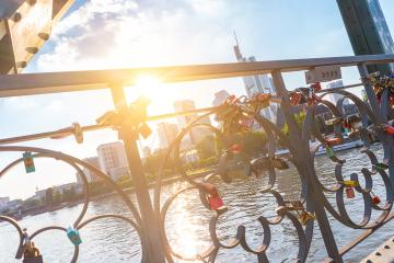 Love locks at Frankfurt, germany- Stock Photo or Stock Video of rcfotostock   RC-Photo-Stock