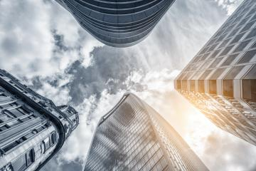 low angle view of skyscrapers in london : Stock Photo or Stock Video Download rcfotostock photos, images and assets rcfotostock | RC-Photo-Stock.: