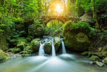 Luxemburg, Mullerthal Waterfall- Stock Photo or Stock Video of rcfotostock | RC-Photo-Stock