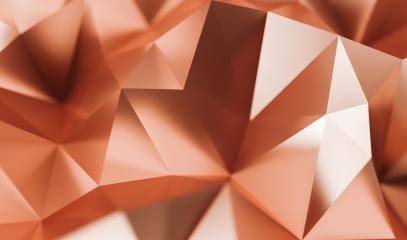 luxury copper Low-poly Background - 3D rendering - Illustration- Stock Photo or Stock Video of rcfotostock | RC-Photo-Stock