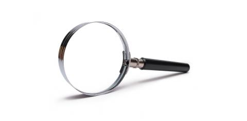 Magnifying glass isolated on white : Stock Photo or Stock Video Download rcfotostock photos, images and assets rcfotostock | RC-Photo-Stock.: