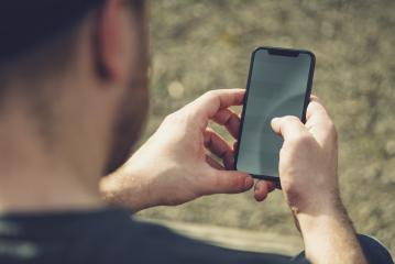 man using mobile smart phone- Stock Photo or Stock Video of rcfotostock | RC-Photo-Stock