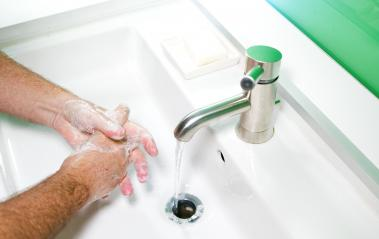 Man washing his Hands to prevent virus infection and clean dirty hands- Stock Photo or Stock Video of rcfotostock | RC-Photo-Stock