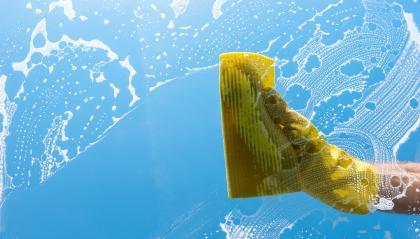Man washing windows- Stock Photo or Stock Video of rcfotostock | RC-Photo-Stock