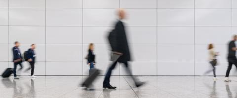 Many anonymous hectic people in the pedestrian area of a city- Stock Photo or Stock Video of rcfotostock | RC-Photo-Stock