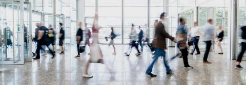 Many anonymous people go shopping in the mall - Stock Photo or Stock Video of rcfotostock | RC-Photo-Stock