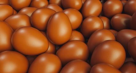 Many brown chocolate eggs for easter on a pile - 3D Rendering- Stock Photo or Stock Video of rcfotostock | RC-Photo-Stock