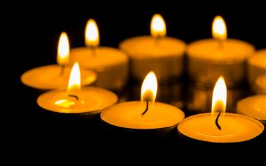 Many burning candles with shallow depth of field- Stock Photo or Stock Video of rcfotostock | RC-Photo-Stock
