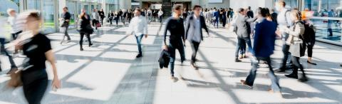 Many business people traveling in the airport - Stock Photo or Stock Video of rcfotostock | RC-Photo-Stock
