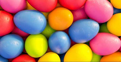 Many colorful easter eggs for Easter on a pile - 3D Rendering : Stock Photo or Stock Video Download rcfotostock photos, images and assets rcfotostock | RC-Photo-Stock.: