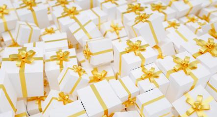 many gold gift boxes : Stock Photo or Stock Video Download rcfotostock photos, images and assets rcfotostock | RC-Photo-Stock.: