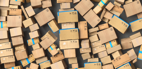 Many stacked boxes and boxes when moving, delivery concept image- Stock Photo or Stock Video of rcfotostock | RC-Photo-Stock