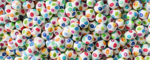 Many watercolor easter eggs as banner background : Stock Photo or Stock Video Download rcfotostock photos, images and assets rcfotostock | RC-Photo-Stock.: