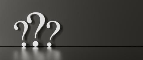 many White question marks on a black background with empty copy space on left side. 3D Rendering- Stock Photo or Stock Video of rcfotostock | RC-Photo-Stock