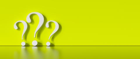 many White question marks on a green background with empty copy space on left side. 3D Rendering- Stock Photo or Stock Video of rcfotostock | RC-Photo-Stock