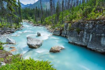 Marble Canyon at the Canadian Rockies in banff canada : Stock Photo or Stock Video Download rcfotostock photos, images and assets rcfotostock | RC-Photo-Stock.: