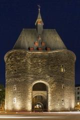 marchgate at night in aachen- Stock Photo or Stock Video of rcfotostock | RC-Photo-Stock