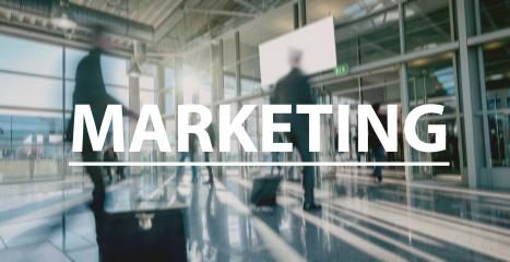 Marketing text Concept image -  blurred Business people - Stock Photo or Stock Video of rcfotostock | RC-Photo-Stock