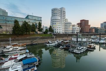 media harbor Dusseldorf- Stock Photo or Stock Video of rcfotostock | RC-Photo-Stock
