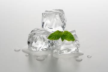 melting ice chunks with mint- Stock Photo or Stock Video of rcfotostock | RC-Photo-Stock
