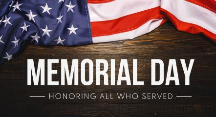 Memorial Day lettering backdrop, with American flag on old wood background- Stock Photo or Stock Video of rcfotostock | RC-Photo-Stock