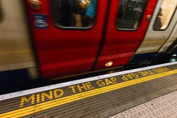 Mind the Gap, London underground : Stock Photo or Stock Video Download rcfotostock photos, images and assets rcfotostock | RC-Photo-Stock.: