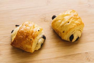 mini chocolate croissant- Stock Photo or Stock Video of rcfotostock | RC-Photo-Stock