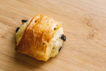 mini Croissants with chocolate- Stock Photo or Stock Video of rcfotostock | RC-Photo-Stock
