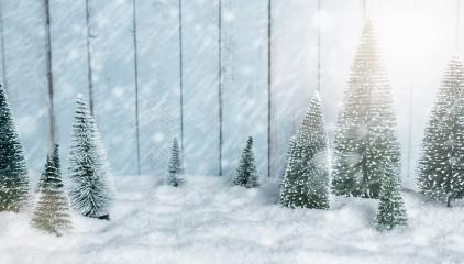 Miniature snowy winter Forest Landscape - christmas concept image- Stock Photo or Stock Video of rcfotostock | RC-Photo-Stock