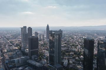 misty view of frankfurt city in germany- Stock Photo or Stock Video of rcfotostock | RC-Photo-Stock