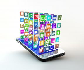 Mobile Phone with cloud of application icons : Stock Photo or Stock Video Download rcfotostock photos, images and assets rcfotostock | RC-Photo-Stock.: