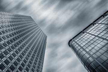 modern business skyscrapers achitecture raising to the cloudy sky : Stock Photo or Stock Video Download rcfotostock photos, images and assets rcfotostock | RC-Photo-Stock.: