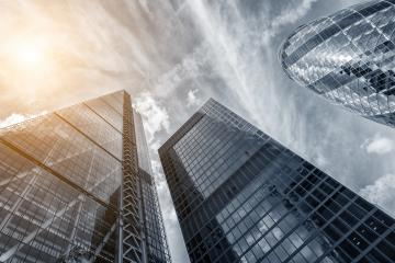 modern business skyscrapers, high-rise buildings, architecture raising to the sky : Stock Photo or Stock Video Download rcfotostock photos, images and assets rcfotostock | RC-Photo-Stock.: