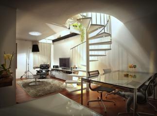 modern loft appartment- Stock Photo or Stock Video of rcfotostock | RC-Photo-Stock