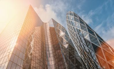 Modern office buildings skyscrapers in a business district : Stock Photo or Stock Video Download rcfotostock photos, images and assets rcfotostock | RC-Photo-Stock.: