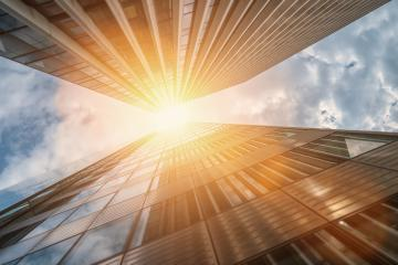 Modern skyscrapers in a business district : Stock Photo or Stock Video Download rcfotostock photos, images and assets rcfotostock | RC-Photo-Stock.: