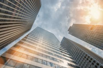 Modern skyscrapers in paris- Stock Photo or Stock Video of rcfotostock | RC-Photo-Stock