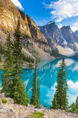 moraine lake in summer Travel Alberta canada : Stock Photo or Stock Video Download rcfotostock photos, images and assets rcfotostock | RC-Photo-Stock.: