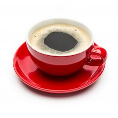 Morning coffee cup on white- Stock Photo or Stock Video of rcfotostock | RC-Photo-Stock