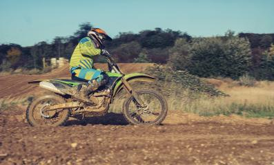 Motocross MX, enduro rider on a dirt track- Stock Photo or Stock Video of rcfotostock | RC-Photo-Stock