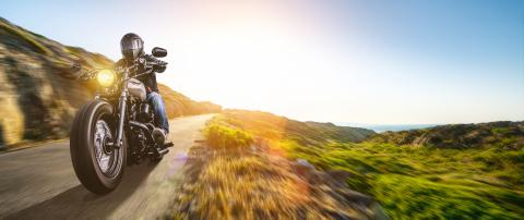 motorbike on the coastal road riding. having fun driving the empty highway on a motorcycle tour journey : Stock Photo or Stock Video Download rcfotostock photos, images and assets rcfotostock | RC-Photo-Stock.: